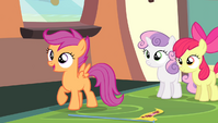 "Scootaloo ""no shot at getting gold either"" S4E24"