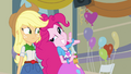 "Applejack and Pinkie ""she's psychic!"" EG.png"