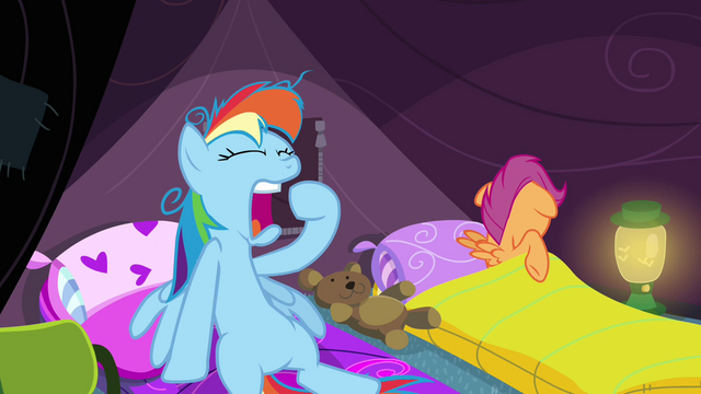 File:Rainbow Dash yawning S3E6.png
