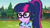 Twilight Sparkle impressed with Timber's knowledge EG4