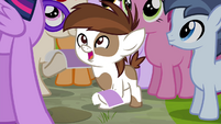 Pipsqueak excited S4E15