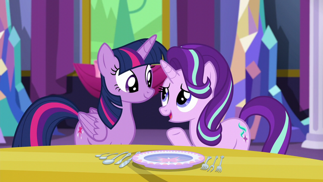"File:Starlight Glimmer ""I like all your friends"" S6E6.png"