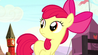 Apple Bloom hears Sheriff Silverstar S5E6