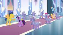 Flash Sentry introduces Twilight Sparkle EG