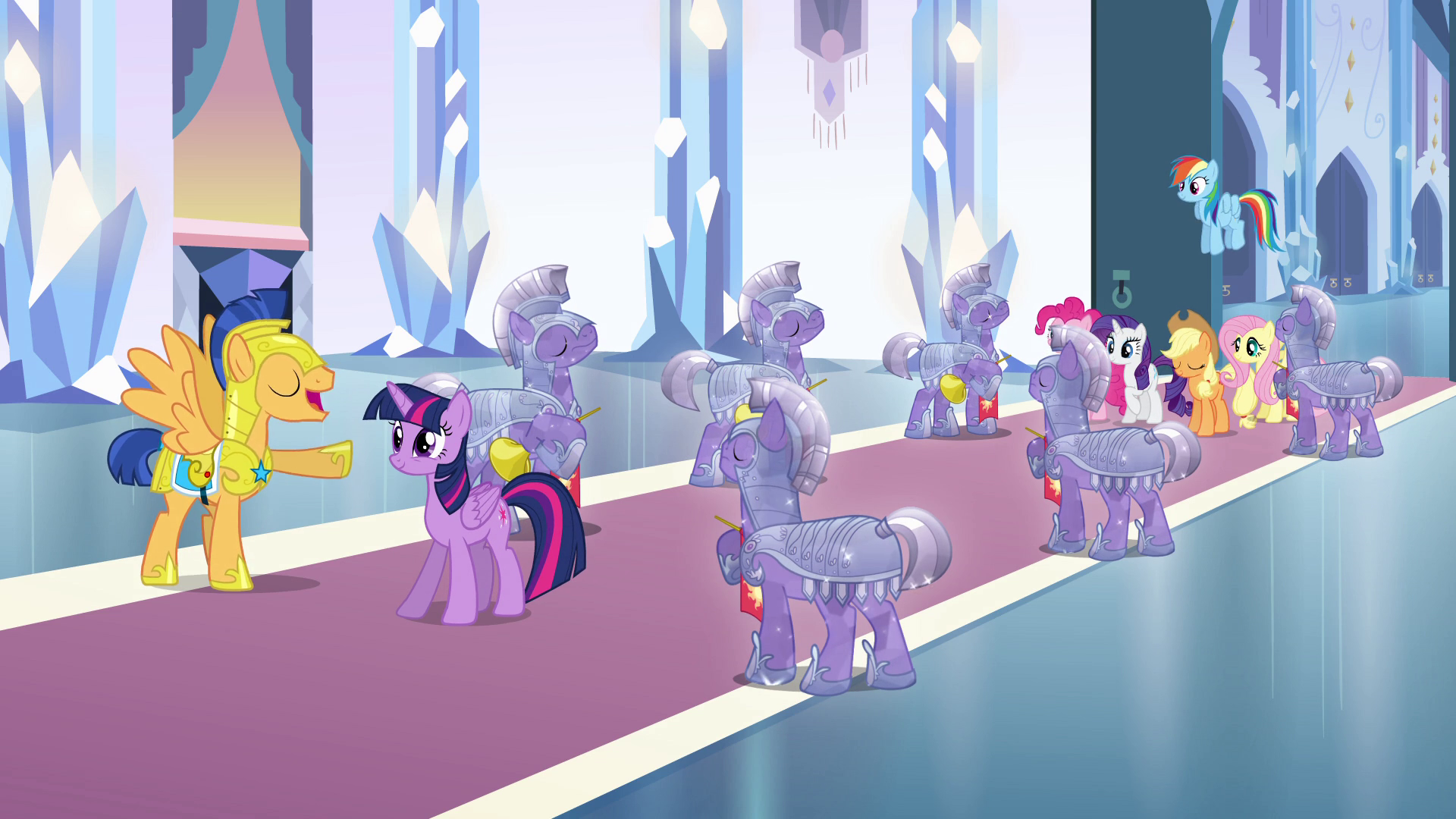 Image - Twilight pony dancing with Flash Sentry EG.png ... |My Little Pony Friendship Is Magic Twilight Sparkle And Flash Sentry