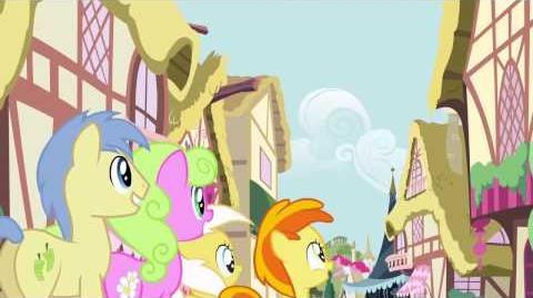 Hungarian My Little Pony Pinkie The Party Planner Song HD