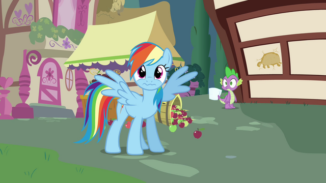 File:Rainbow Dash watches Tank crash S03E11.png