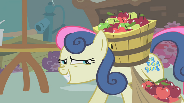 File:Sweetie Drops thinks that's enough apples S01E12.png