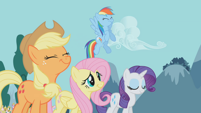 File:Twilight's friends hear Twilight give her report S1E10.png