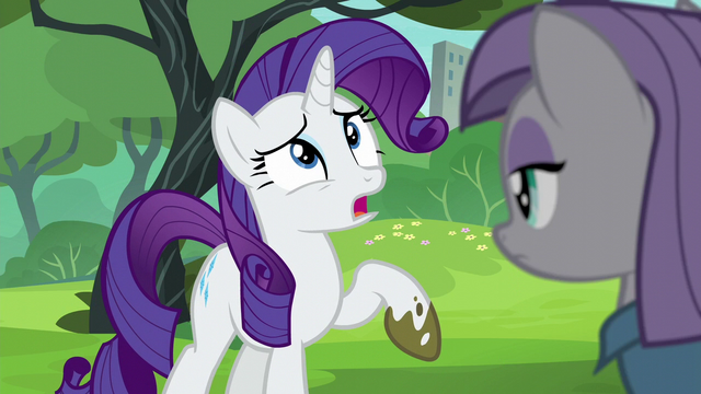 "File:Rarity ""look how filthy my hooves are!"" S6E3.png"