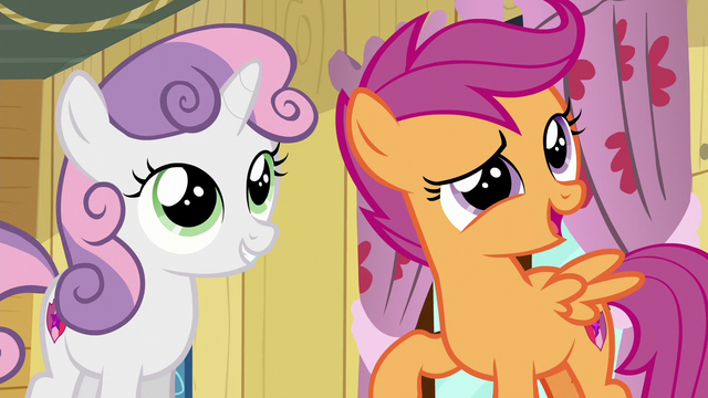 "File:Scootaloo ""we'll totally solve them"" S6E4.png"
