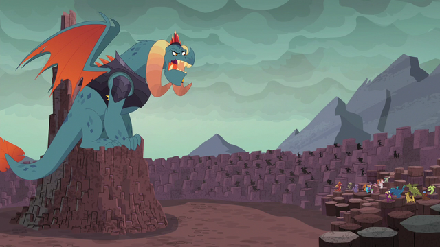 """File:Torch """"Very well then, little dragon"""" S6E5.png"""