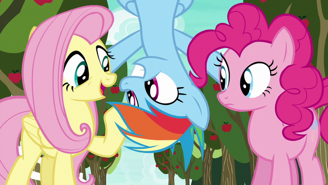 "File:Fluttershy ""seem to know a lot about this game"" S6E18.png"