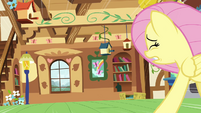 Fluttershy run to window S2E21