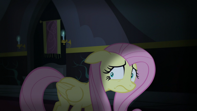 File:Fluttershy scared of the dark castle S5E21.png