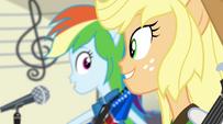 Rainbow and AJ singing Better Than Ever EG2