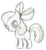 Apple Bloom Sketch