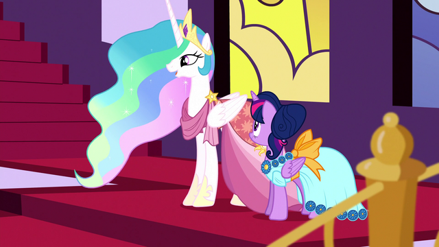 "File:Celestia ""just enjoying the Gala for once"" S5E7.png"