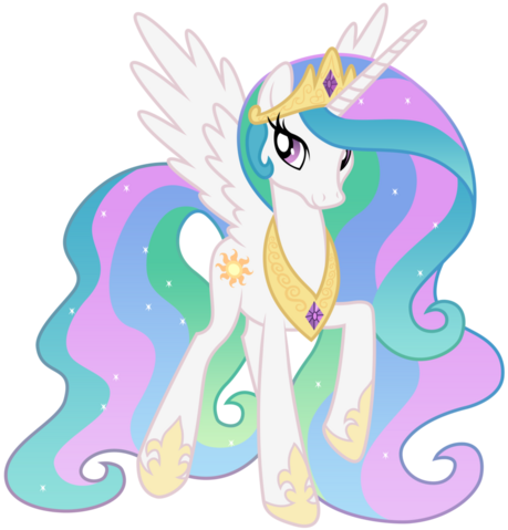 File:FANMADE Princess Celestia Walking.png