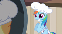 Rainbow Dash super cute smile S2E14