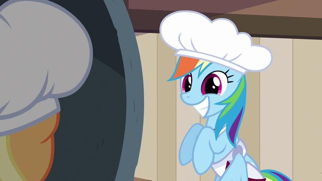 File:Rainbow Dash super cute smile S2E14.png