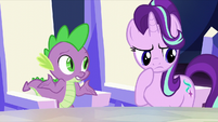 Spike making a guess S6E1