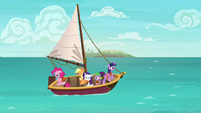 Twilight and friends go sailing S6E22