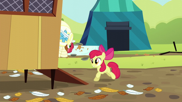 File:Apple Bloom runs into chicken coop S5E17.png