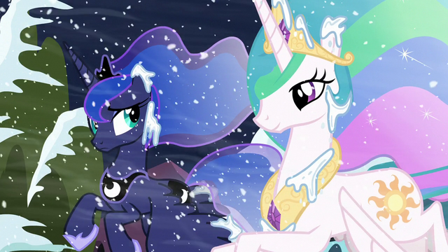 File:Luna looks at Celestia; Celestia smiling S6E2.png