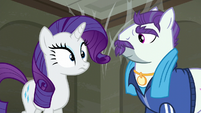 Rarity a bit surprised S6E9