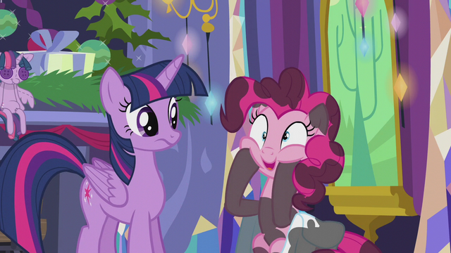 "File:Pinkie Pie ""multiply that times infinity!"" S5E20.png"