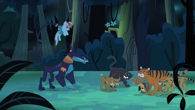 File:Rainbow and Daring in trouble S4E04.png
