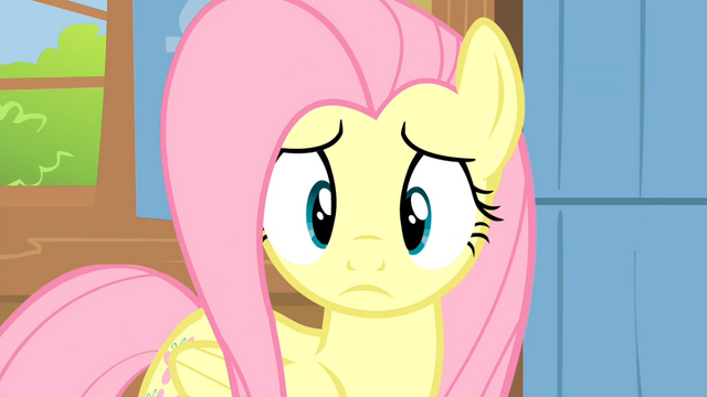 File:Fluttershy looks at Breezies S04E16.png