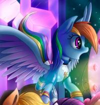 Human Rainbow Pegasus ID WeLoveFine