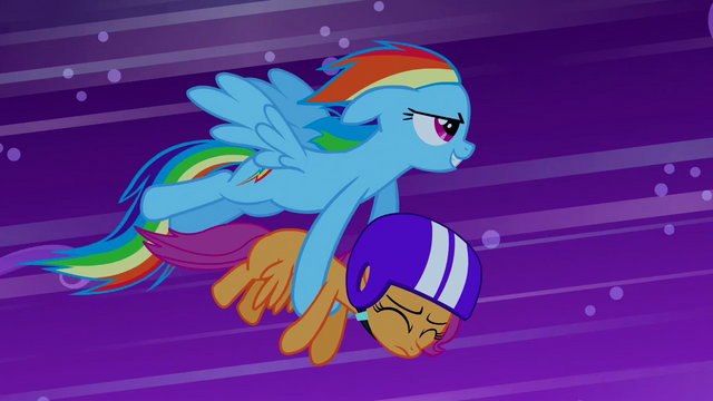 File:Rainbow Dash saves Scootaloo S03E06.png