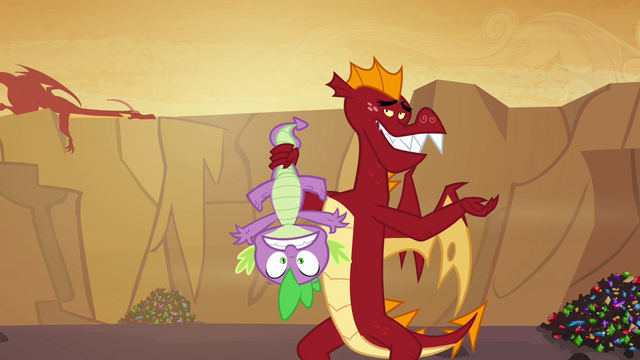 File:Garble holds Spike upside down S02E21.png