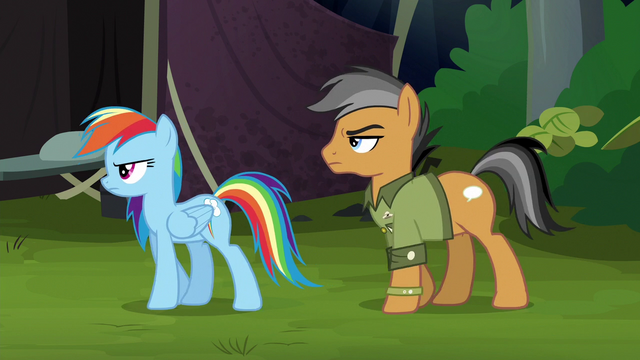 File:Quibble begrudgingly follows Rainbow S6E13.png