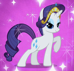 Rarity with tiara cropped S2E9