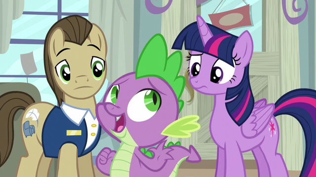 "File:Spike ""too squeaky! better keep looking!"" S5E3.png"