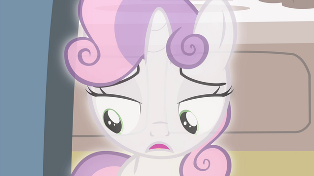 "File:Sweetie Belle ""Rarity wasn't trying to steal the spotlight"" S4E19.png"