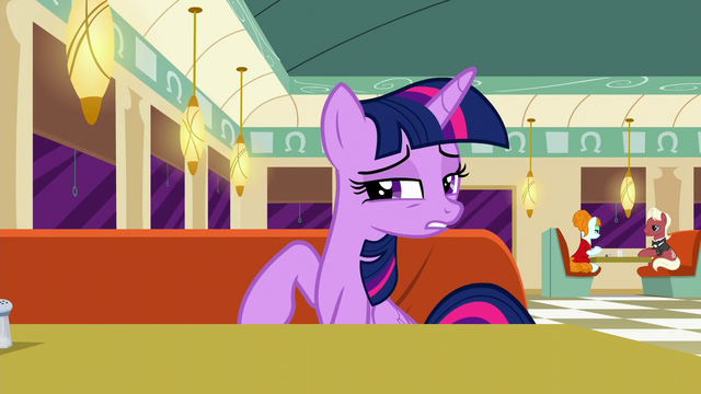"File:Twilight ""it's natural that Rarity would be"" S6E9.png"