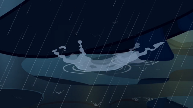 File:Cloaked pony stepping on puddle S3E5.png