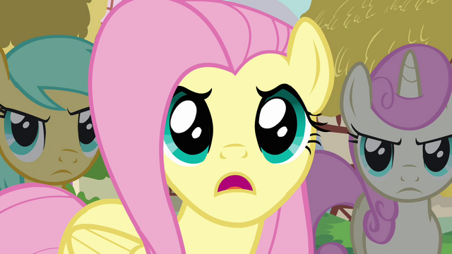 "File:Fluttershy ""And they trashed our critter picnic!"" S3E3.png"