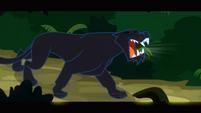 Jaguar roaring at Daring Do S2E16