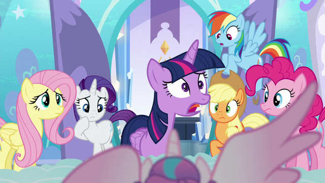 "File:Twilight ""the baby is an Alicorn?!"" S6E1.png"