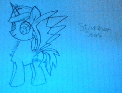 File:FANMADE Stargleem Spark drawing by The Biggest SU Fan.png
