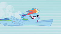 "Rainbow Dash ""I said not now!"" S1E05"