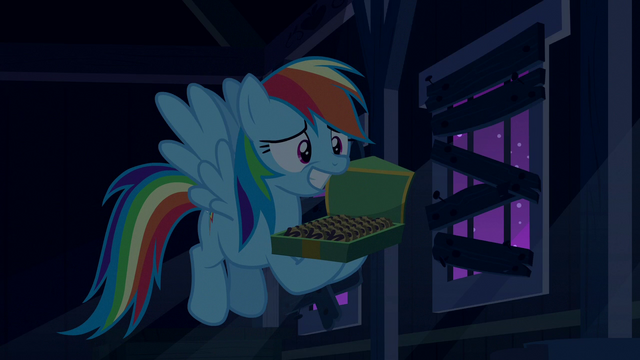 File:Rainbow Dash grinning embarrassed S6E15.png