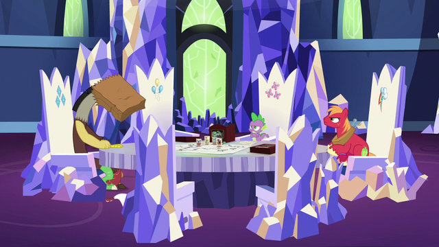 File:Spike and Big Mac look at ashamed Discord S6E17.png