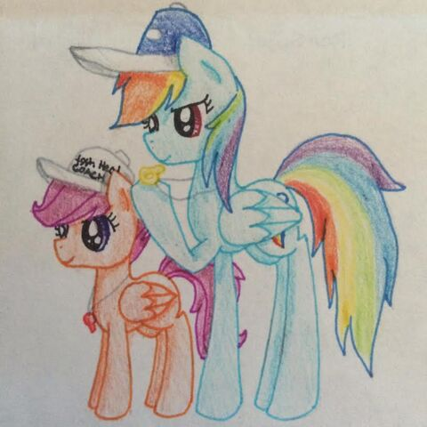 File:FANMADE Coach Rainbow Dash and Scootaloo.jpg